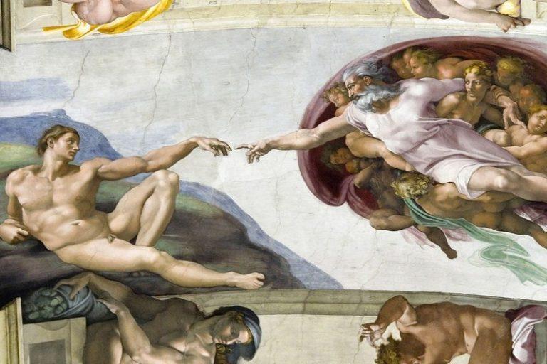 Скритото послание във фреската на Микеланджело – Сътворението