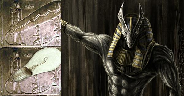 Древните египтяни се научили да използват електричеството благодарение на извънземните