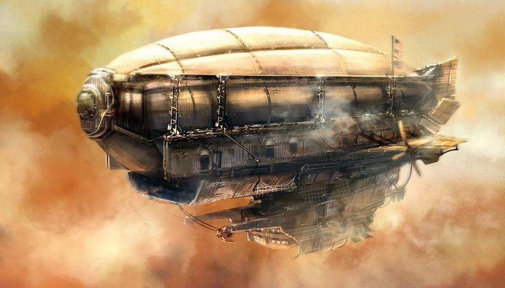 Древните летящи кораби на Атлантите