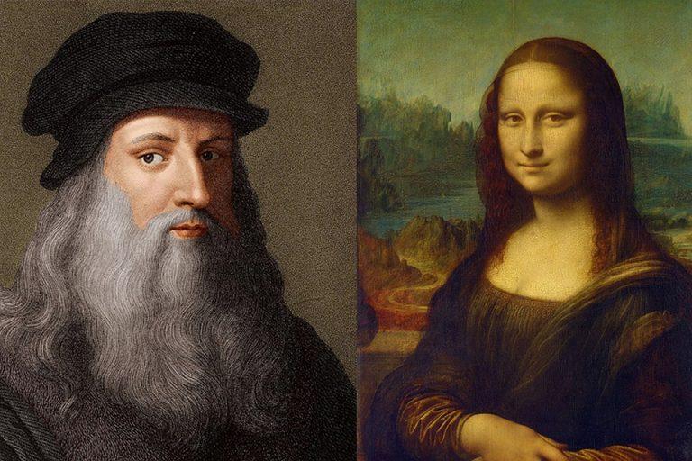 """Разкрита е рисунка под """"Мона Лиза"""""""