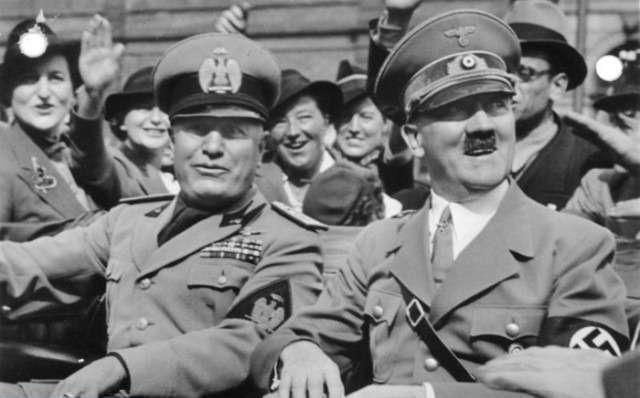 Какво свързва Маркони, Мусолини и хуманоидите?